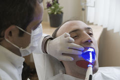 Visit at the Dentist Royalty Free Stock Photos