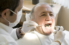 Visit at the Dentist Royalty Free Stock Image