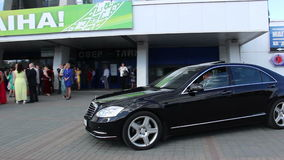 Visit the event VIPs stock video footage