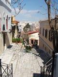 visit för 5 greece Fotografering för Bildbyråer