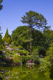Visit the gardens of Serralves House Stock Photography