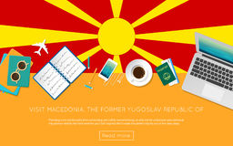 Visit Macedonia, the Former Yugoslav Republic Of. Royalty Free Stock Images