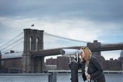 Visit New York City Stock Photo