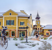 Visit outlet city in Kiev Royalty Free Stock Image