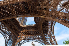 Visit in Paris Royalty Free Stock Photography