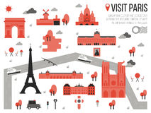 Visit Paris Stock Photography