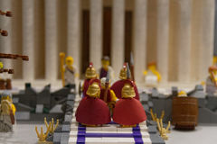 Visit the Romans in ancient Egypt Royalty Free Stock Photography