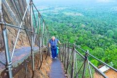 Visit Sigiriya Fortress royalty free stock photos