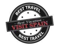Visit Spain Royalty Free Stock Photos