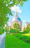 Visit St Sergius Lavra in Sergiyev Posad Stock Photos