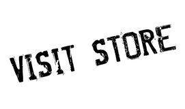 Visit Store rubber stamp Royalty Free Stock Image