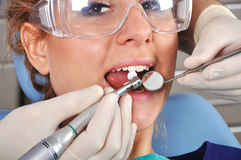 Visit to dentist Stock Photography