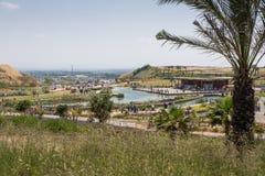 Visit to Hiriya (Ariel Sharon park) Stock Photos
