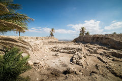 Visit to Megiddo National Park Royalty Free Stock Photography