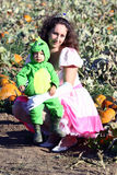 Visit to a Pumpkin Patch Royalty Free Stock Image