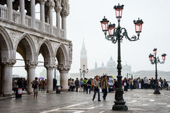 Visit to Venice Stock Image