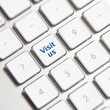 Visit us button Stock Images