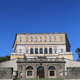 A visit at Villa Farnese in italian Palazzo Farnese, a massive Renaissance and Mannerist. CAPRAROLA, ITALY - OCTOBER 16, 2016: A visit at Villa Farnese in Royalty Free Stock Photos