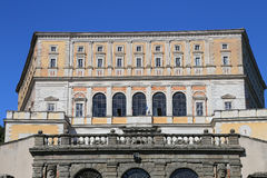 A visit at Villa Farnese in italian Palazzo Farnese, a massive Renaissance and Mannerist. CAPRAROLA, ITALY - OCTOBER 16, 2016: A visit at Villa Farnese in Royalty Free Stock Photography