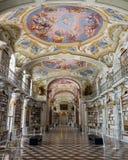 Visita à abadia de Admont em Styria Foto de Stock
