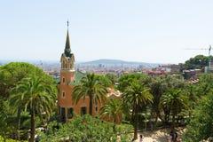 Visita à cidade de Barcelona Fotografia de Stock