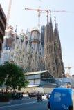 Visita à cidade de Barcelona Imagens de Stock