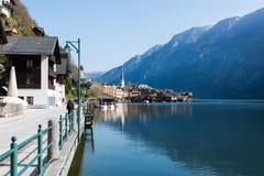 Visita à vila de Hallstatt Imagens de Stock Royalty Free