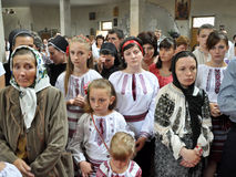 Visita al _11 de Sviatoslav Shevchuk de la iglesia del capítulo de Chortkiv Foto de archivo libre de regalías