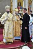 Visita al _18 de Sviatoslav Shevchuk de la iglesia del capítulo de Chortkiv Fotografía de archivo libre de regalías