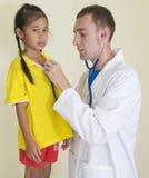 Visita al doctor Imagen de archivo libre de regalías