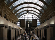 Visita al museo Fotografie Stock Libere da Diritti