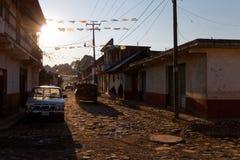 Visita in Angahuan, Michoacan, Messico 6 fotografie stock libere da diritti