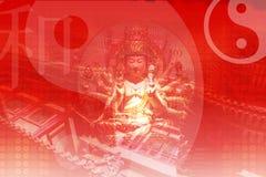 Visita China en Asia Imagen de archivo