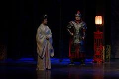 A visita da princesa de Lou- do ato em segundo: a noite do exército-grande drama histórico, ` Yangming ` de três noites Foto de Stock Royalty Free