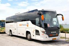 Visita de Scania Foto de Stock
