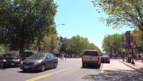 Visita del Washington DC di Capitol Hill archivi video