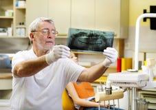 Visita dental Imagem de Stock