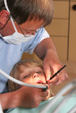 Visita dental Fotografía de archivo