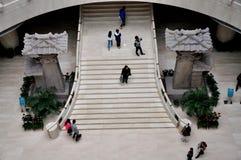 Visita do museu Imagem de Stock Royalty Free
