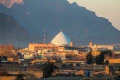 Visita a Kandahar in Afghanistan nel 2017 fotografie stock libere da diritti