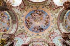 Visita a la abadía de Admont en Estiria Imágenes de archivo libres de regalías