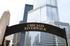 Visita a lungomare di Chicago Fotografia Stock Libera da Diritti