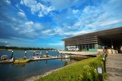 Visita Marina Barrage dos povos foto de stock royalty free