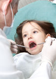 VISITA NO DENTISTA Foto de Stock