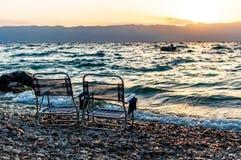 Visita Ocrida Fotografia Stock Libera da Diritti