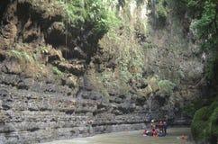 Visita Pangandaran 3 Fotografie Stock