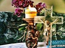 Visita pastorale Immagine Stock