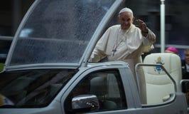 Visita Romania di Papa Francisc immagini stock libere da diritti