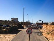 Visita a Tripoli em Líbia em 2016 fotos de stock