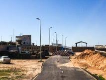 Visita a Tripoli em Líbia em 2016 foto de stock